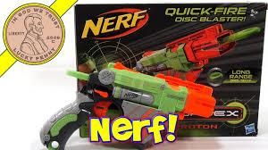 black friday nerf guns nerf vortex proton quick fire disc blaster hasbro toys youtube