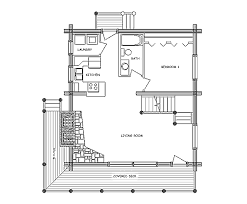Floor Plans For Log Cabins Log Home Floor Plan Rocky Mountain