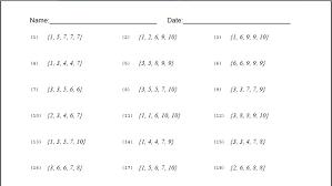 worksheets median worksheets opossumsoft worksheets and printables