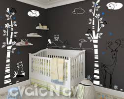 forest animals decal etsy