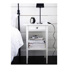 Ikea Hemnes Side Table Hemnes Bedside Table White 46x35 Cm Ikea
