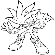 cartoon sonic the hedgehog coloring pages for kids womanmate com