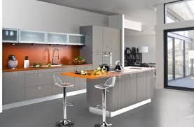 photos de cuisines impressionnant cuisine gris et bois 8 cuisines teissa cgrio