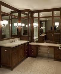 corner sink vanity bathroom modern with atlanta home builders