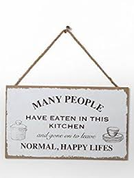wooden vintage shabby chic sign plaque slogan many people