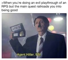 agent hitler fbi know your meme