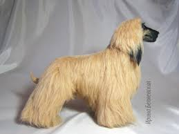 afghan hound job the afghan hound needle felted toy height 21 sm 100 woo