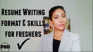 how to write a resume for a fresher how to write a professional resume for freshers youtube how to write a professional resume for freshers