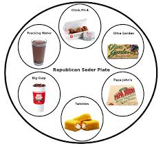 what s on a seder plate hat thief the republican haggadah 5774 edition 2014