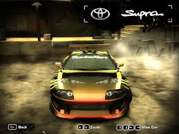 toyota supra fast and furious need for speed most wanted toyota fast and furious supra nfscars