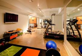 Small Home Gym Ideas Gorgeous Basement Gym Flooring Ideas Charming Cheap Home Gym
