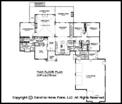 craftsman floor plan large craftsman house plan chp lg 2715 ga sq ft large craftsman