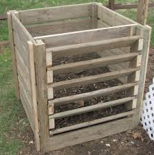 Free Wooden Garbage Bin Plans by Compost Bin Composting Construction And Programming