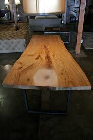 Slab Table Etsy by Live Edge Reclaimed Wood Dining Table White Elm By Robrray