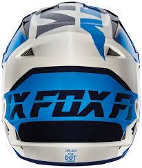 wholesale motocross gear fox bmx helmet fox v1 mako helmets motocross white blue red fox