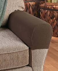 Chair Arm Protectors Sets Of 2 Stretch Armrest Covers The Lakeside Collection