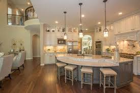 large kitchen island design stanton new home plan in woodtrace classic and kingston collections