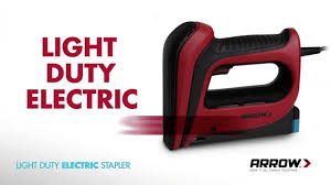 Electric Staple Gun For Upholstery The R E D Compact Electric Staple Gun Youtube