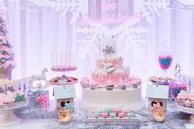 kara u0027s party ideas pastel winter onederland themed birthday party