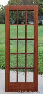 15 light french door interior french doors mahogany