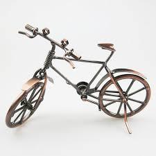 Home Decor Online Stores India Craft Art India Home Décor Black Decorative Miniature Metal Cycle