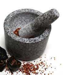 cuisine internationale take a look at this light granite mortar pestle by scandicrafts