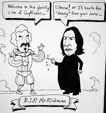 alanrickman rip harrypotter respect news life dead death