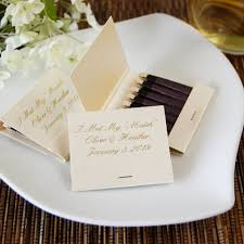 wedding matchbooks personalized matches