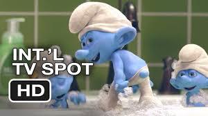 smurfs 2 international tv spot smurf u0027s blue 2013