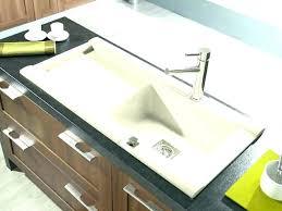 evier cuisine encastrable resine emejing evier cuisine blanc resine ideas design trends 2017 lavabo
