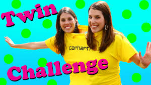 twin challenge conjoined twins little tikes backyard game