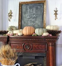 chalkboard fireplace mantel decor tips to consider for your fall