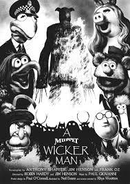 a muppet wicker man poster and screen print u2014 neil evans