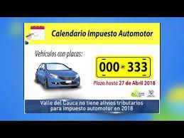 impuestos vehiculos valle 2016 hqdefault jpg