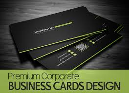 premium corporate business cards 25 design graphics design