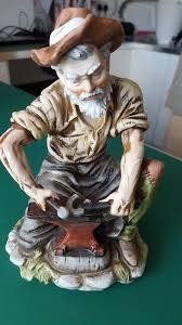 Capodimonte Tramp On A Bench Capodimonte Tramp Hobo On Bench Figurine Ornament U0026 Blacksmith