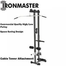 Super Bench Ironmaster Ironmaster Cable Tower Attachment For Super Bench Lat Pulldown