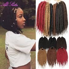 ombre senegalese twists braiding hair 3x short box twist hair synthetic braiding hair box braid