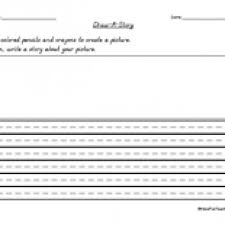 draw a story worksheet have fun teaching