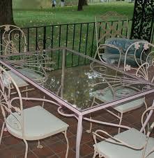 Salterini Patio Furniture Authentic Mid Century Salterini Garden Patio Set Ebth