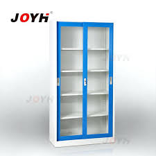 steel bookcase with glass doors steel office furniture glass