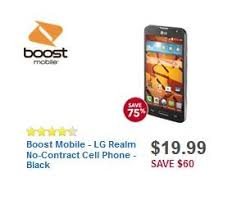 best black friday deals on mobiles boost mobile lg realm no contract cell phone black deal at