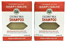 amazon com organic natural shampoo bar coconut milk 2x pack