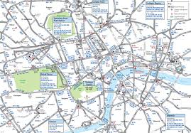 Dallas Area Map by London Bus System Map London Map