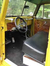 willys jeep truck interior 1954 willys wagon woodie 4x4 vintage mudder reviews of classic