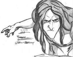 147 tarzan images disney magic drawings