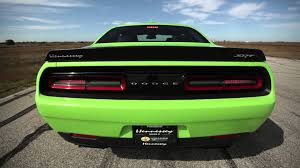 Dodge Challenger Hellcat - hennessey hpe850 hellcat challenger in action youtube