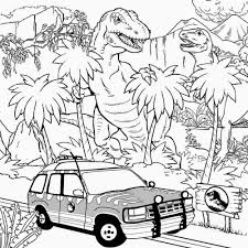 jurassic park coloring pages com new fleasondogs org
