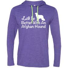 afghan hound lady and the tramp life is better with an afghan hound tee shirt hoodies hoodies