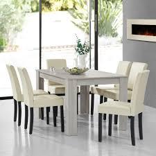 Esszimmer Eiche Modern En Casa Esstisch Eiche Dunkel Mit 6 Stühlen 180x100 Tisch Stühle